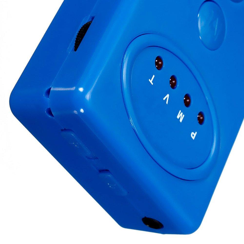 LANDUM Beb/é Adulto Enuresis Enuresis Orina Cama Humedecedor Sensor de Alarma No Hay da/ño Seguridad Monitores de beb/é Azul