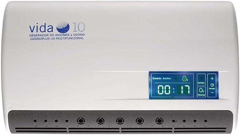 Generador de Ozono y Aniones purificador de agua Ozono Plus Vida 10: Amazon.es: Salud y cuidado personal