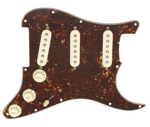 Jeff Beck Noiseless Pickups - Fender Jeff Beck Hot Noiseless Loaded Pickguard Tortoise / Aged White
