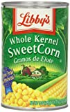 Libby's Sweet Corn, Whole Kernel, 15.25 oz