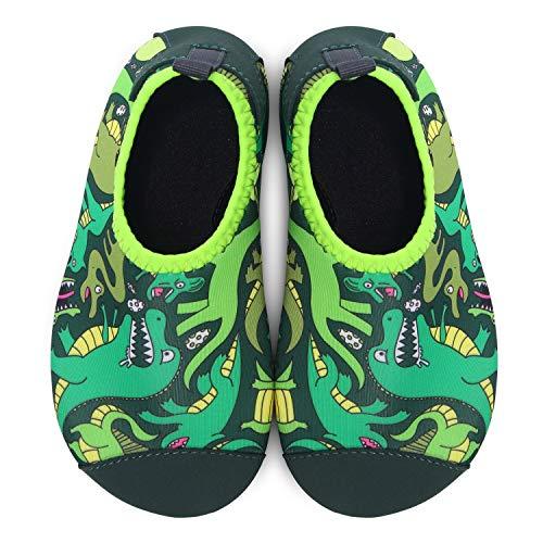 Rapido Dinosaur Yoga Uomo Nuoto Scarpe A Estive Piedi Aqua Joinfree Calze Secco Nudi Donna Per Da wvZTxFq