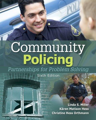 Download Community Policing: Partnerships for Problem Solving Pdf