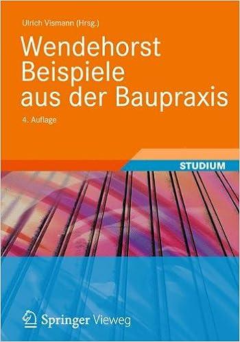 Book Wendehorst Beispiele aus der Baupraxis