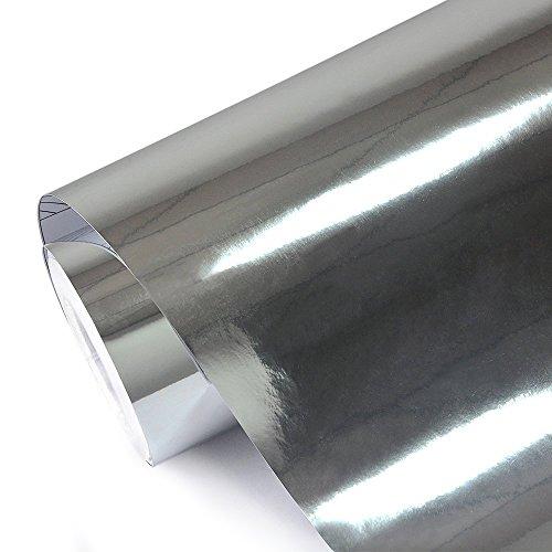 Teckwrap 11 5 Quot X 55 Quot Chrome Mirror Silver Vinyl Wrap