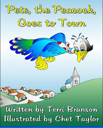 Pete, the Peacock, Goes to Town ePub fb2 ebook