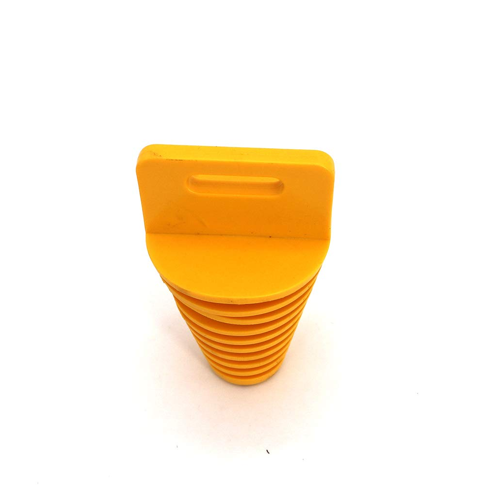 Red, 1.25-2.4 Conical KIPA Exhaust Muffler Wash Waterproof Plug For Motorcycle Pit Dirt Bike ATV Quad Go Kart Buggy Gas Scooter Lawnmower Harley Bikes Washable Thermostable