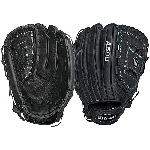 Wilson A500 Game Soft Youth Baseball Glove,Right Hand Throw