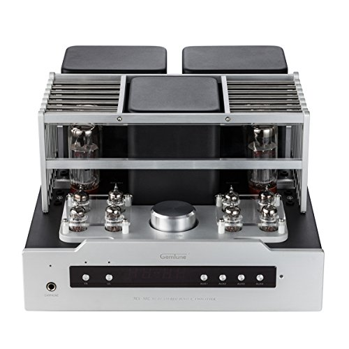 Gemtune MS-30L EL34B Hi-Fi Integrated Push-Pull Tube Amplifier with Remote Control, Headphone Output Gemtune