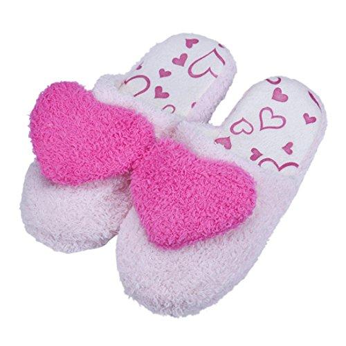 Sandalias para Mujer, RETUROM Los amantes de la moda piso piso sandalias suaves zapatos rosa caliente