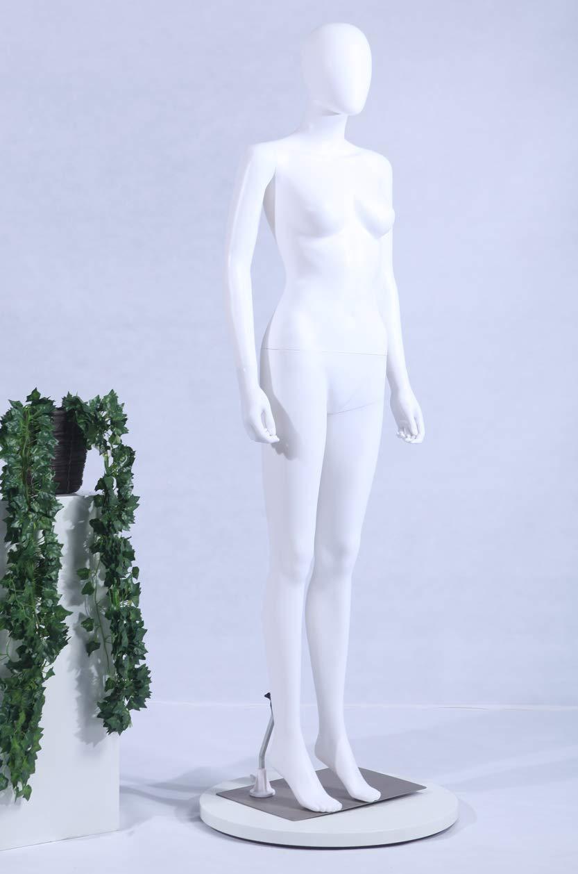 Manichino Mobile Femminile Eurotondisplay Bianco Opaco
