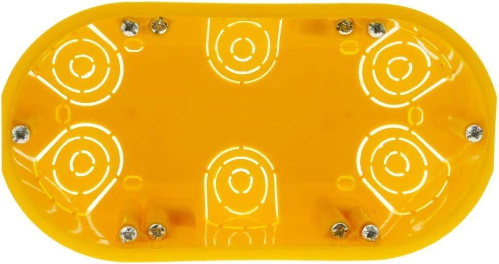 Caja de empotrar Rectangular 140x74mm para Paredes Huecas BeMatik