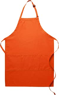 product image for DayStar Apparel Three Pocket Butcher Apron - Style 223 (1, Orange)