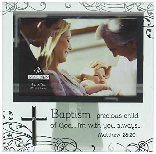 Malden International Designs Baptism Photo Frames
