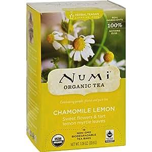 NUM10150 - Organic Teas and Teasans