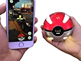 Oumal Smartphone Power Bank Pokemon Pokeball(Led Light Enclosure Lighting) USB Charge Iphone 6/6S Cellphone Portable Battery Charger 6000mAh Galaxy S7 S7 Edge External Charging Device