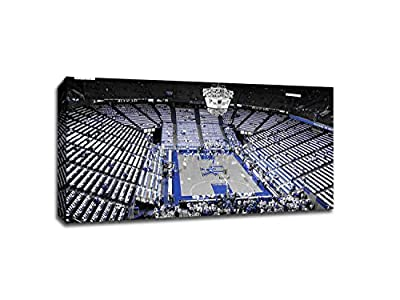 Kentucky - College Basketball Touch of Color - 20x11 Gallery Wrapped Canvas Wall Art TOC