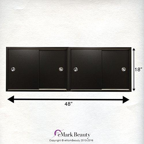 Amazon.com: Beauty Salon DOUBLE Upper Cabinets Towel Cabinets ...