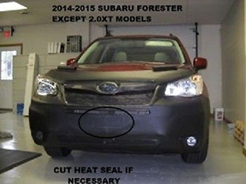 lebra-2-piece-front-end-cover-black-car-mask-bra-fits-subaru-forrester-2014-2015-except-20xt-models