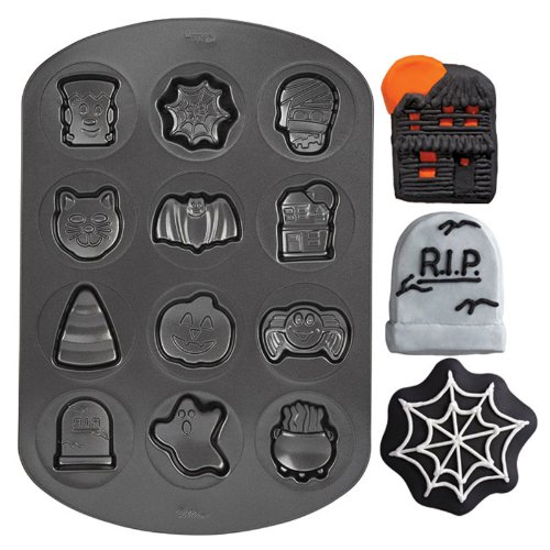 (Lets Party By WILTON Halloween Cookie Shapes Non-Stick)