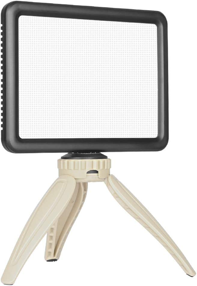 WenFei shop Super Slim LED Fill Light Panel,3300K-5600K LED Video Light,with hot Shoe Ball Mount,Tripod,Remote Controller and Charger for Video Shooting,Makeup