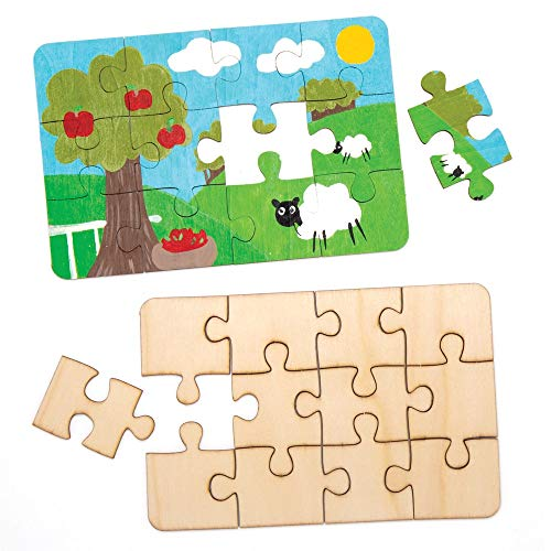 Crea tu propio puzzle de madera | En casa con peques