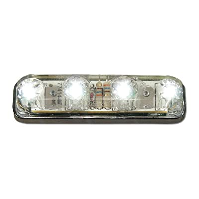 Grand General 77144 Sealed Light (Small Rectangle White 4-LED), 1 Pack: Automotive