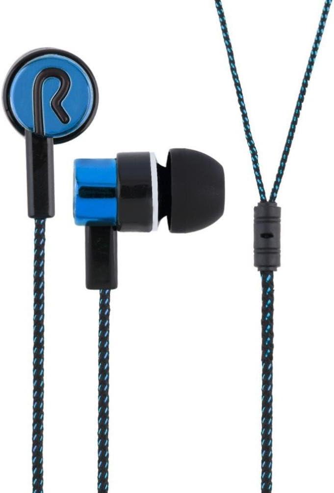 Silver Insaneness High Definition Stereo Earphones 3.5mm in-Ear Earphones-HOOSTARS with Microphone Bass Stereo Headset