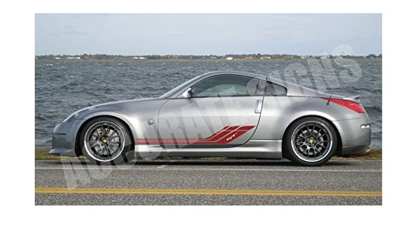 accuratesigns Vinyl Side Stripes Graphics Decals Sticker Kit: Amazon.es: Coche y moto