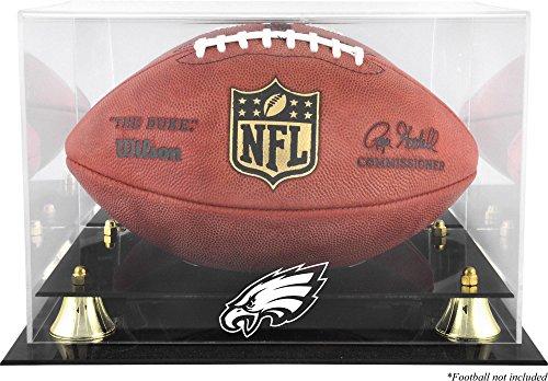 ladelaphia Eagles Team Logo Football Display Case ()