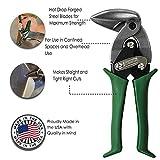 MIDWEST Aviation Snip - Right Cut Upright Tin