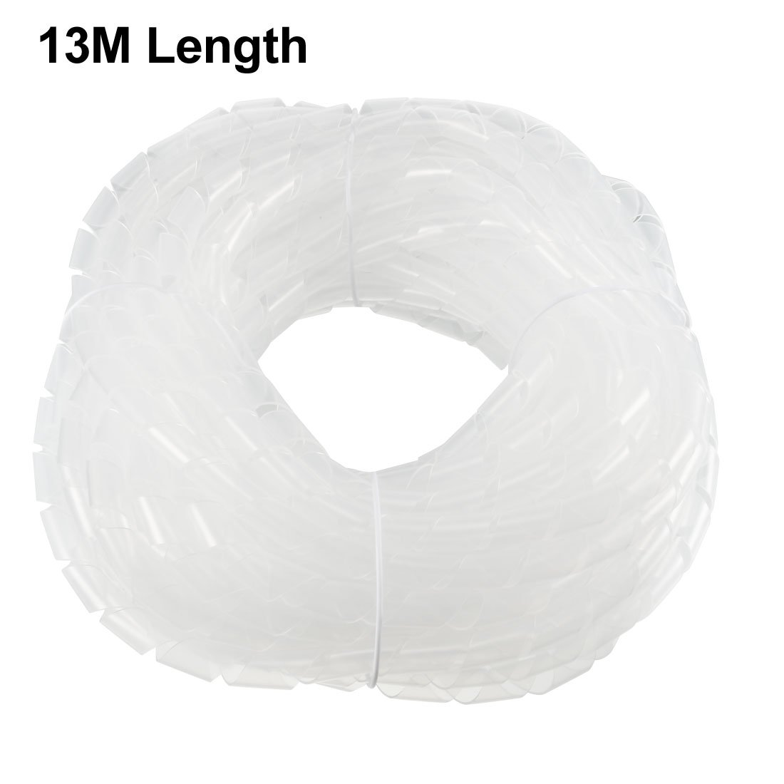 Amazon.com: uxcell Flexible Spiral Tube Wrap Cable Wire Organizer ...