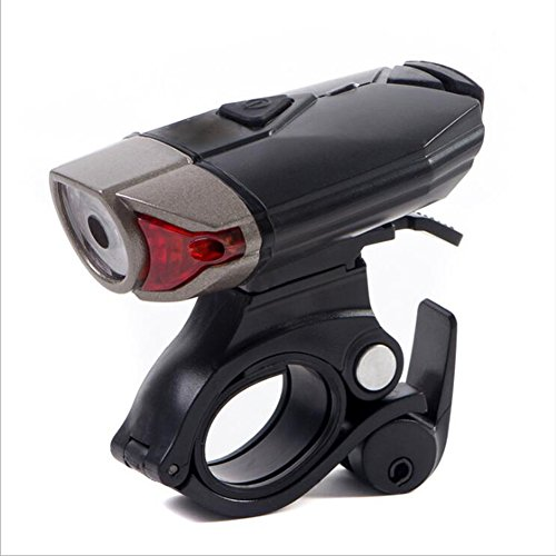 OOFAY Bike@ USB Rechargeable Bike Light Front Outdoor Bicycle Light 1200Mah/500 Lumens LED Cycle Headlight Lamp IPX5 Waterproof 3 Light Mode Bike Headlight For Cycling/Lighting Duration: 3-8 Hours by OOFAY Bike@