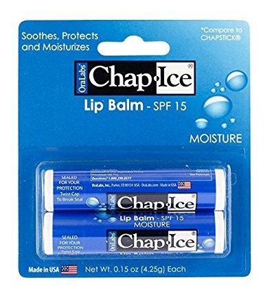 Chap Ice Moisturizer Humectante Lip Balm SPF 15
