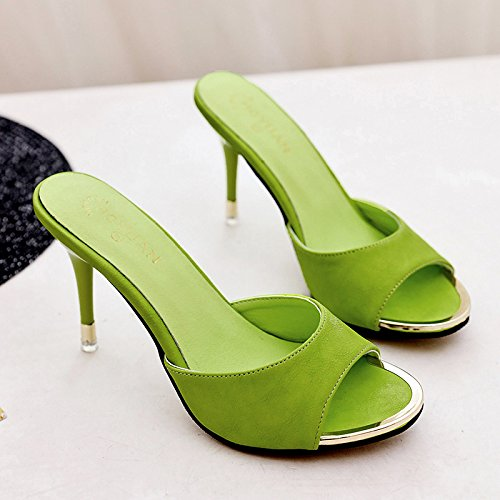 Pantofole IANGL Trentacinque Verde per Bocchino Sexy Pesce e wqfvzP6pq