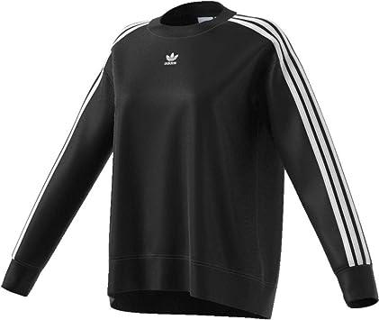adidas Crew sweater Sweat shirt Femme Noir FR: 34