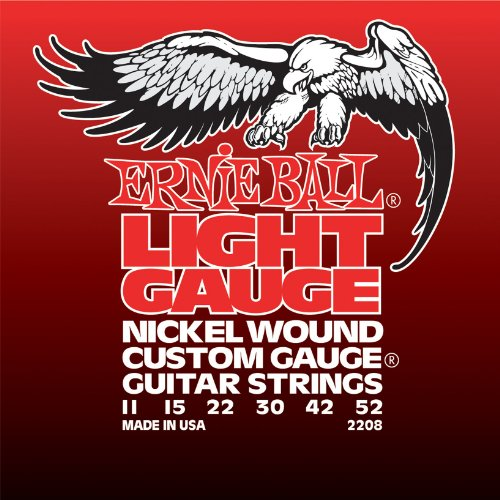 Ernie Ball Light Nickel Wound Set with wound G, .011 - .052