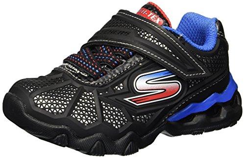 Skechers Kids Boys' LIL Hydro-Static Sneaker,Black/Red/Blue,10 Medium US Toddler