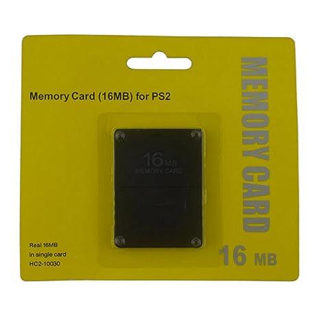 Tarjeta de memoria de 16 MB para Playstation 2 - Flash Memory para consola