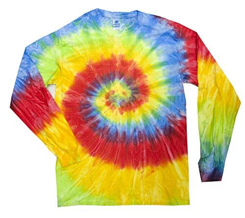 - Colortone Tie Dye L/S 3X Pastel Neon