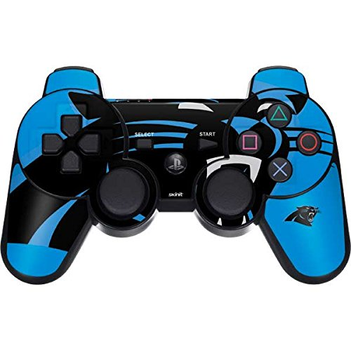 Skinit Carolina Panthers Large Logo PS3 Dual Shock Wireless Controller Skin - Officially Licensed NFL Gaming Decal - Ultra Thin, Lightweight Vinyl Decal Protection