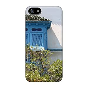 Premium Protection A Tunisian House Window Case Cover For Iphone 5/5s- Retail Packaging