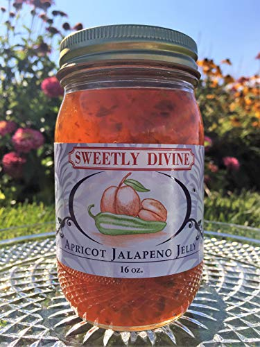 Sweetly Divine Hot Pepper Jelly (Apricot Jalapeno)