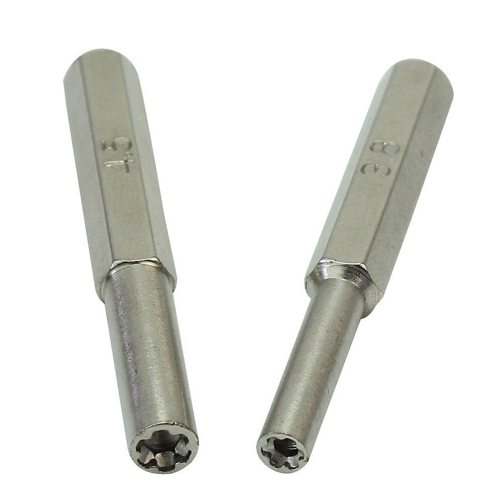 3.8mm + 4.5mm Herramientas Mano Seguridad Destornilladores para ...
