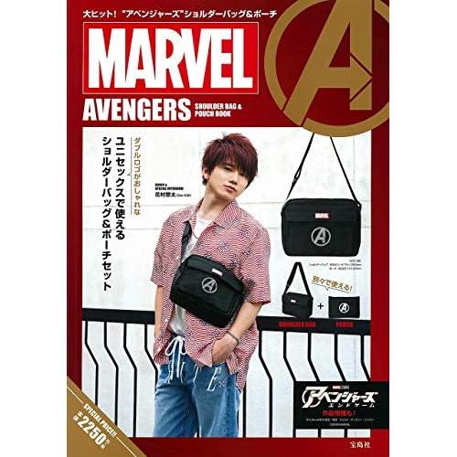 MARVEL AVENGERS SHOULDER BAG & POUCH BOOK 画像