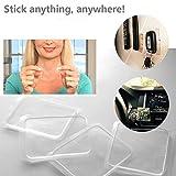 10 Pcs Universal Non-Slip mats,Sticky Anti-Slip Gel Pads,Holds Cell Phones Sunglasses Speakers etc.Easy
