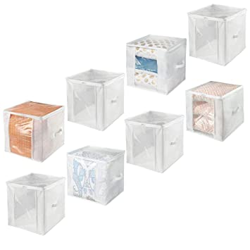 Amazon.com: mDesign StorageZipCube: Home & Kitchen