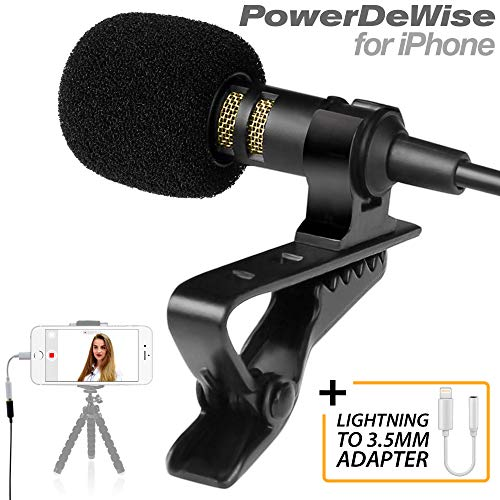 Professional Lavalier Microphone Adapter Compatible