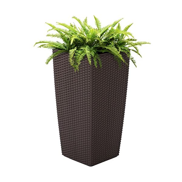 Best-Choice-Products-Self-Watering-Wicker-Planter-W-Rolling-Wheels