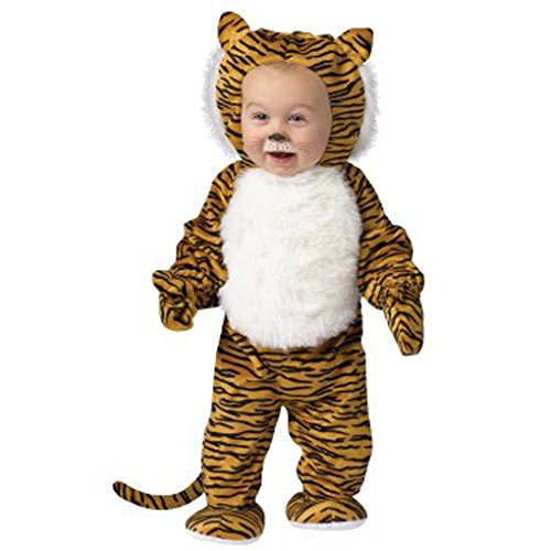 Cuddly Tiger Toddler Halloween Costume Size: Small - 6-12 months - Cuddly Tiger Toddler Costumes