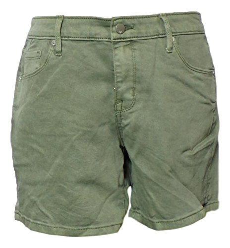 - Mossimo Ladies Flat Front Shorts (Green, 10)